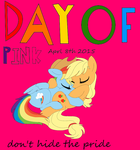 Day Of pink mlp Poster by thebluee53