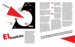 El Lissitzky magazine spread by emi56