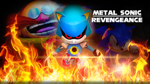 Metal Sonic Revengeance Wallpaper by Nibroc-Rock
