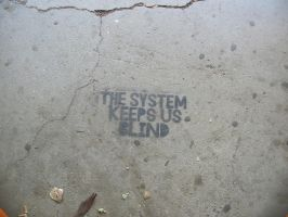 The System Keeps Us Blind by nekotime