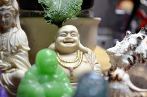 The Laughing Buddha by coffeenoir