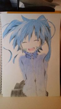 Ene -Colored version- by MysterySprite