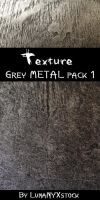 Grey metal, pack 01 by LunaNYXstock