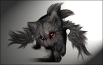 .:The Wings Of Black Chaos:. by WhiteSpiritWolf