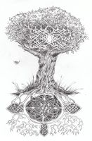 Celtic Tree of Life... by WikkedOne