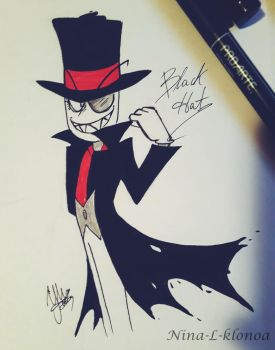 Villainous - Black Hat by nina-L-klonoa