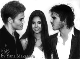 Nina, Paul, Ian by Makarova17