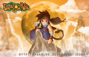 Dragon Ball: Young Gohan by PAabloO