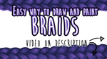 [TUTORIAL] Easy way to make Braids by RavenNoodle