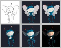Tooth Fairy Steps by step by MauLencinas