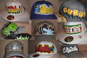 Cap Montage by C75Designs