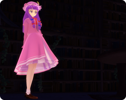 Patchouli Model Edit by MagicalFlyingTurtle