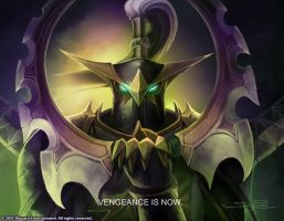 Maiev fanfic page link by RougeXtails4evr