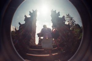 bali's temple by chuckTHEchick