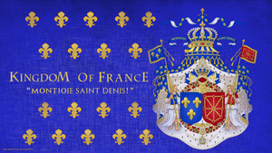 Kingdom Of France Coat Of Arms by saracennegative