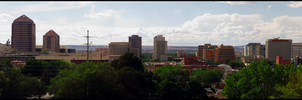 Albuquerque Downtown by MadejyalookGraphics