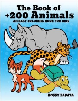 Animals coloring book by Silver-Ray