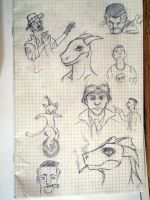 Doodles by alekksandar