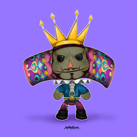 LBP: King of all Cosmos by KaTT-a-KlysM