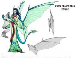 Waterdragon Clan - female by noot