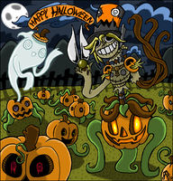 Halloween 2009 by Rickz0r