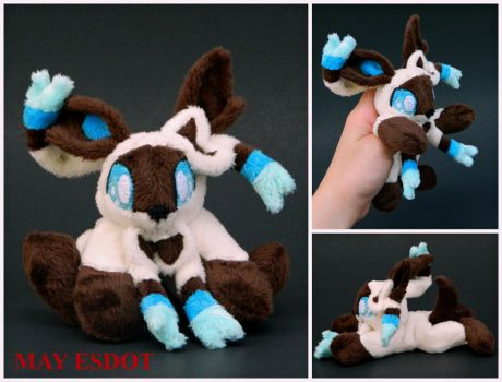 Custom Sylveon Pokemon Pocket Plush by MayEsdot