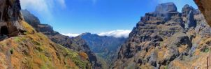 Panorama Pico do Areeiro by konceptsketcher