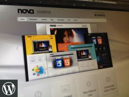 Nova Professional and Flexible WordPress Theme by vesthar