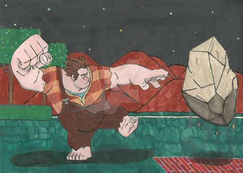 Wreck-it Ralph, the Earth Bender by DisneyThorn92