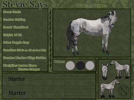 Stevie Says Reference--FOR SALE by catheetiem