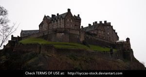 Edinburgh Castle 1 by syccas-stock