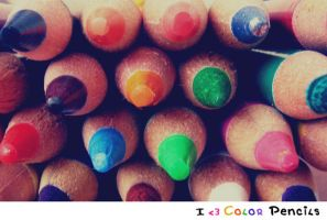 .Color Pencils. by PetiteTangerine