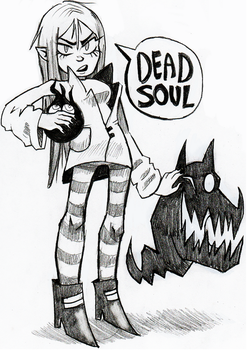Dead Soul by nikkinack