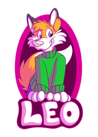 Leo Badge by zip-the-fox