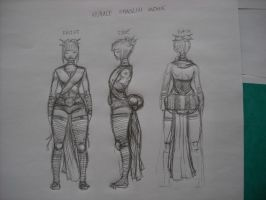 female shaolin monk turnover by The-Bambookazee