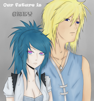 EN collab: Our future is grey by Hachitaki