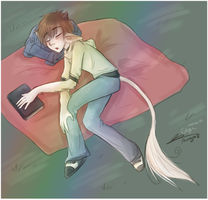 Sleepppyy Evvy - Colour'd by MystiWings