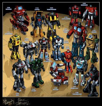 Autobot Rollcall - Marvel TF01 by MachSabre