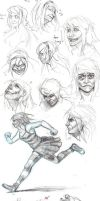 Sketchs 2013 by SecretsOfSorrow
