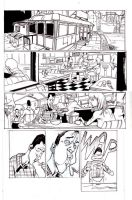 The Diner pg. 1 by JHarren