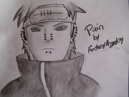 Pain ''Pein'' from Naruto by FantasyAngel09