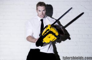 Kellan Lutz by tylershields
