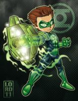 Lil Green Lantern by lordmesa