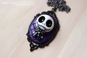 Jack Skellington necklace by GiuliaSnape