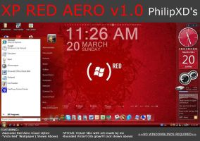 Red Aero VS with Vistart by PhilipXD