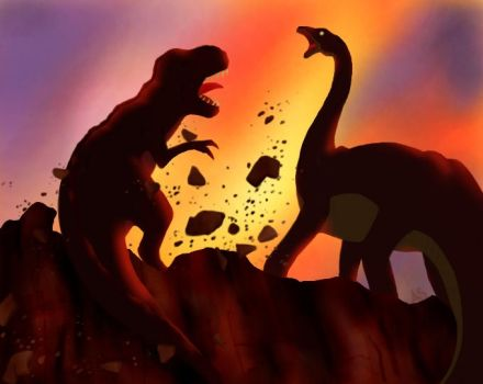 Land before Time by AnnMY