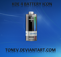 KDE battery icon by tonev