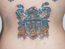 Kats Family Crest by johnnyjinx