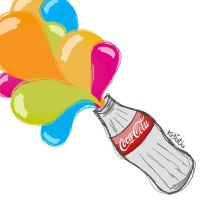 without a coca-cola .. by ra3iatha