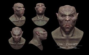 ORC CONCEPT SHEET by SIMON BUCKROYD 2 by Binoched